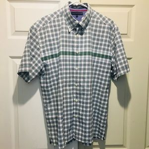 Tommy Hilfiger Button Down Plaid S/S Shirt